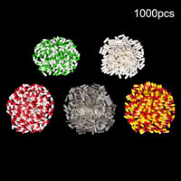 1000Pcs Multicolor Empty Gelatin Capsules Pill Vcaps Gel Halal Separated Boxe Ic