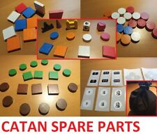 catan cities & knights and walls spares or full wooden set