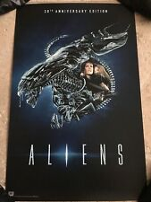 SDCC 2016 Exclusive Aliens 30th Anniversary Movie Poster Ripley Newt Sci-Fi