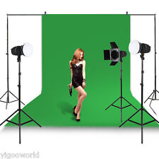 Studio Green Screen Chromakey Backdrop 1.6 x 3 m Muslin Video Photo Background