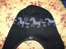 "Child's Winter Hat with Tassels ""Running Horse's"""