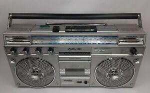 Vintage Magnavox D8323 Boombox AM/FM Cassette deck FOR PARTS