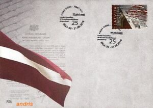 Latvia 2016 (12) National Independence Constitutional Law - 25 years (u.fdc)