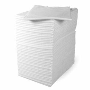 100x Disposable Eco Salon Towels Hygienic Hair Beauty Salon Hairdressing 80x40cm