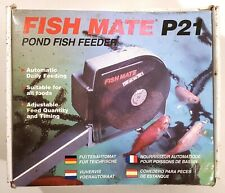 Fish Mate P21 Adjustable Automatic Pond Feeder Unused Complete In Box