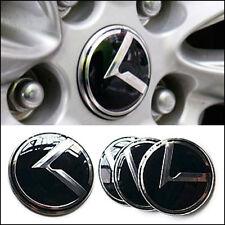 3D K Emblem Wheel Center Cap Hub Cap Wheel Cap 4p For KIA 2019-2020 Cerato K3