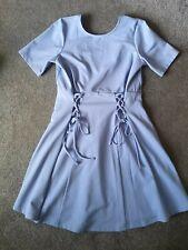 Asos maternity Vestido 8 10 ocasión Baby Shower Lila Azul Pastel