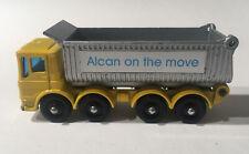 Matchbox Lesney Phantom #51 Custom Leyland Rare Alcan On The Move Tipper Truck.