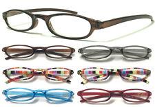 Women's Men's Lightweight Pocket Small Reading Glasses Thin Frame Easy Carry ^^^