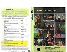 Les Mills Body Flow 60 Complete DVD, CD, Case and Notes