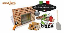 brick outdoor wood fired Pizza oven 100cm x 100cm Build-in-wall model package