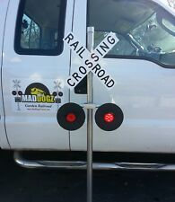 X-Mas Special (ENDS SOON)  Realistic Railroad Crossing  - Alternating LED