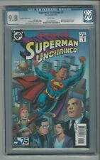 Superman Unchained #1 CGC 9.8 NM/MT DC Comics The New 52 Ordway Variant Cover