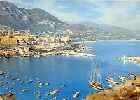 BR14004 Ship bateaux Monaco vue generale sur Monte Carlo