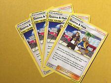 Pokemon Cosmic Eclipse X4 Play Set Guzma & Hala 193/236 NM/M Trainer