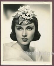 FAY WRAY Striking Lily Floral Hair Coiffure 1930's Photo A.L WHITEY SCHAFER