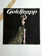 GOLDFRAPP SUPERNATURE PHOTO SQUARE MUSIC 4x4 PROMO MINI POSTER FLYER