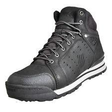K-Swiss Norfolk Men's Shoes Outdoor BOOTS High Top Trainers 05081 Hoke Black UK 11 Black-black 05081-001