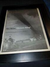 Van Halen Humans Being Twister Rare Original Radio Promo Poster Ad Framed!