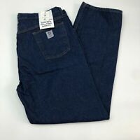 NWT Tyndale Jeans Mens 42X34 Blue Flame Resistant Regular Fit Medium Washed