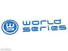 Original Renault World Series Heck Emblem Blau Logo Megane & Clio III Mk3