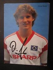 14475 Oliver Geier HSV 80er Jahre original signierte Autogrammkarte