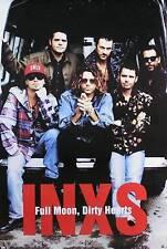 INXS 1993 FULL MOON, DIRTY HEARS ORIGINAL PROMO POSTER
