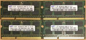 Apple Samsung M471B5673FH0-CF8 4X2GB (8GB) 2Rx8 PC3-8500S-07-10 DDR3 1066 CL7