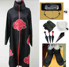 Cosplay Kostüm Anime Naruto Uchiha Itachi Kleidung Schuhe Waffen Lokoware CSN018