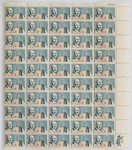 8c Airmail ROBERT GODDARD Sheet of 50 1964 Scott #C69