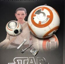 Hot Toys mms337 Star Wars Force Awakens Rey & BB-8 1/6 Magnetic LED BB-8 Droid