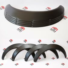 "Universal Fender Flares JDM Universal 2.5"" wide body wheel arches 4 psc"