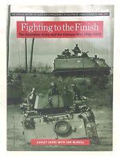 Fighting to the Finish - Military - Book - HC - Vietnam War - 1968-1975 - Ekins