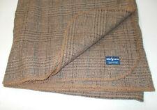 "New ListingRare Ralph Lauren Wool Churchill Plaid Queen Full Blanket Made England 86"" x 90"""