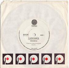 NAZARETH - LOVE HURTS  Very rare 1975 Aussie Single Release! EX+
