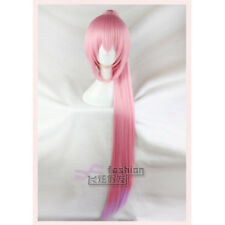 Japanese VOCALOID Megurine Luka Cherry Pink Purple Lolita Gradient Princess Wig