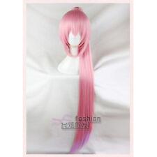 Japanese VOCALOID Megurine Luka Cherry Pink Purple Lolita Gradient Princess Wig