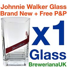 Single Johnnie Walker Red Label 28cl Whiskey Glass Brand New 100% Genuine