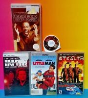 5 UMD Movie Sony PSP Playstation Portable Little Man Stealth King NEW YORK Chris
