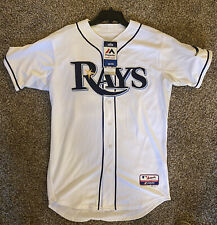 New CHRIS ARCHER Autographed TAMPA BAY RAYS Jersey Size 44