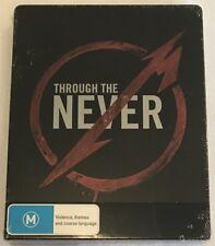 Metallica Through The Never Steelbook - 3D & 2D Blu-Ray & DVD Dual Package