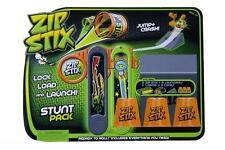 Wholesale Zip Stix Stunt Pack Bundle X 10 Lock Load Launch Kids Child Toy 4 Yrs