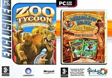 Zoo Tycoon Triple Pack-Zoo Tycoon, Dino camera ammobiliata e Marina & Wildlife Park GOLD