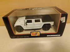 Special Edition Maisto White Soft Top Hummer 1:27 Die Cast Metal