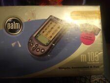 Palm M105 handheld organizer with black faceplate