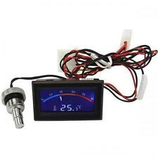 "Phobya Temp. Display with 1/4"" Thread Probe Style Temp. Monitor : Blue Backlight"