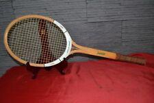 Raquette de tennis ancienne en bois DUNLOP Junior - Vintage collection déco
