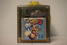 Wario Land 3 Game Boy gameboy Nintendo THE GAME SAVES  original EUR C1516