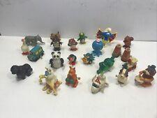 Vtg Wind Up Plastic Toy 80's 70's Tomy Animals Owl More Variety Lot Vintage