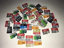 Lot of 10 Mixed Brand 32GB MICROSD Memory Card's for samsung galaxy cell phones